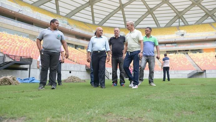 José Melo Arena Amazônia (Foto: NATHALIE BRASIL/Agecom)