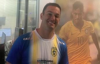 """Diego Hypolito aprova Marcos Goto na chefia da ginástica: """"Mais estruturado"""""""