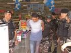 Homem é preso após tentativa de assalto com refém em loja no Marco