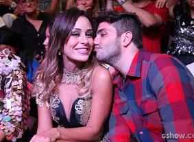 Brothers posam nos bastidores da Grande Final (Camila Serejo / TV Globo)