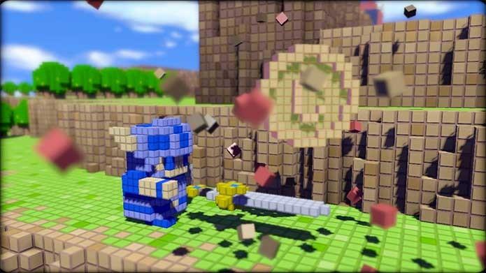 3D Dot Game Heroes (Foto: Divulgação/From Software)