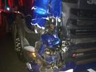Duas pessoas morrem após carreta e moto baterem de frente