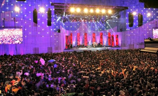 Festival Promessas (Foto: Rede Globo/ Jane Franco)