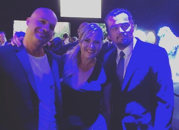 Billy Zane, Kate Winslet e Leonardo DiCaprio (Foto: Reprodução/Instagram)