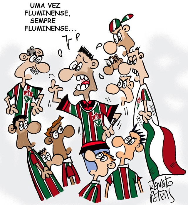 Torcida única-Charge Peters
