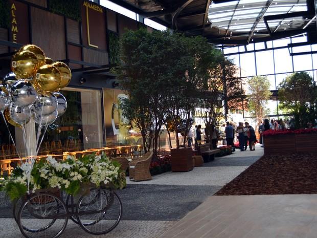 Parque Dom Pedro Shopping abre nova ala de restaurantes em Campinas (Foto: Luciano Calafiori/G1)
