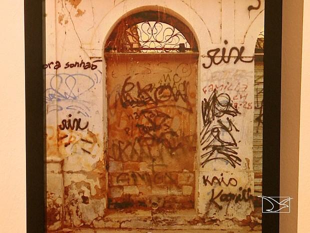 Abandono do Centro Histórico de São Luís é mostrado em exposição (Foto: Reprodução / TV Mirante)
