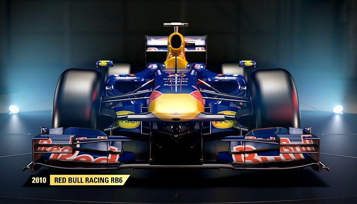 RBR de 2010 estará no game F1 2017
