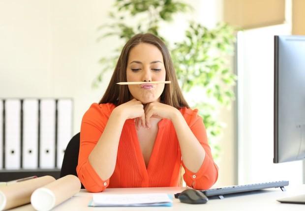 procrastinação, procrastinar, perda de tempo, escritório (Foto: Thinkstock)