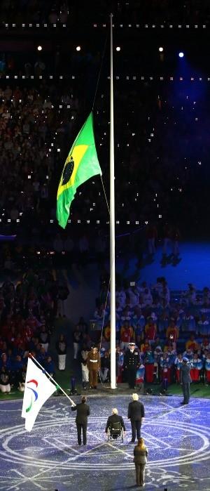 Cerimônia de encerramento paralimpíadas Eduardo Paes (Foto: Getty Images)