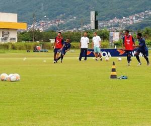 avaí treino (Foto: Diego Madruga)