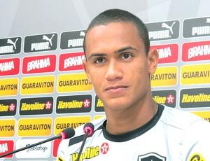 Renan treino Botafogo (Foto: Fred Huber)