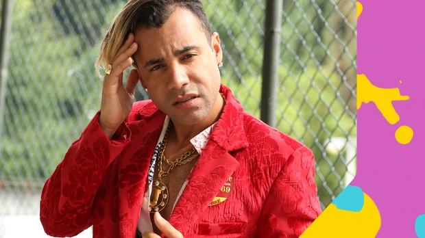 Jefinho do Pagode no TVZ (Foto: divulgao)