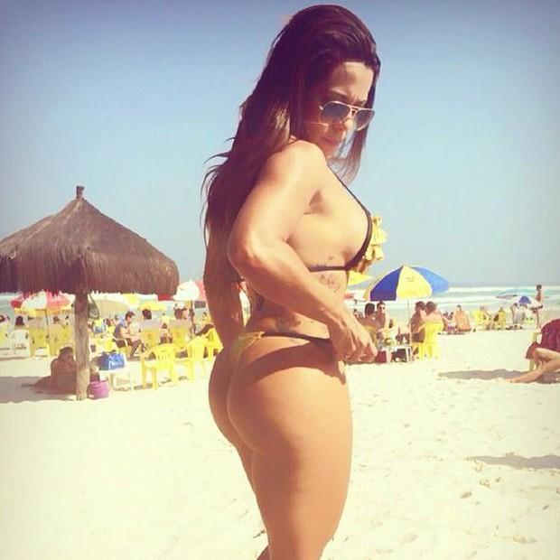 Yara Muniz, Miss Bumbum Bahia (Foto: Reprodução do Instagram)