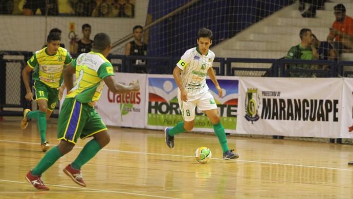 Mombaça supera Martinópole pela Copa TVM de futsal (Foto: Zé Rosa Filho/FCFS/Divulgação)
