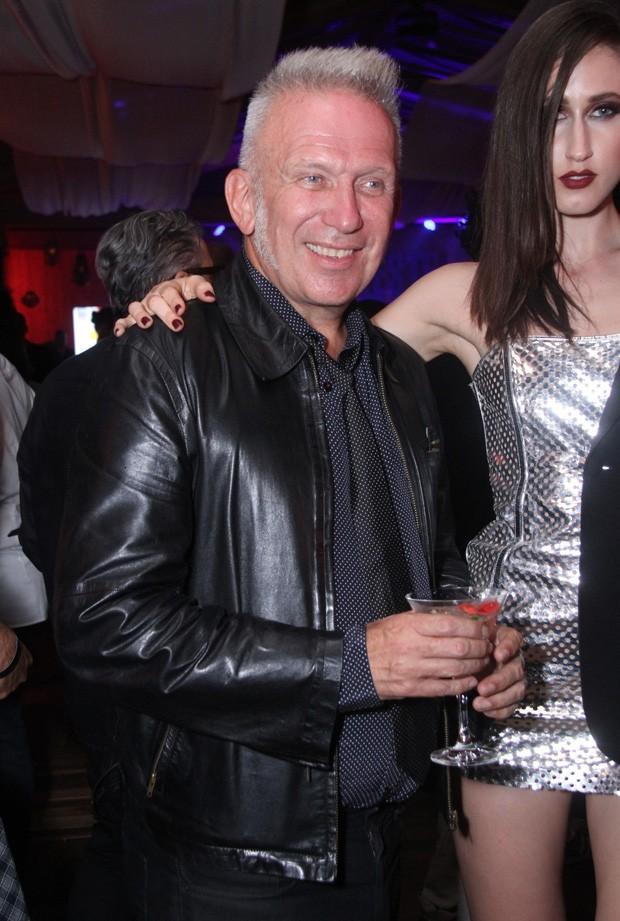 O estilista francês Jean Paul Gaultier (Foto: Thyago Andrade/BRazil News)