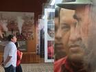 Filho de Fidel visita museu que guarda o corpo de Hugo Chávez