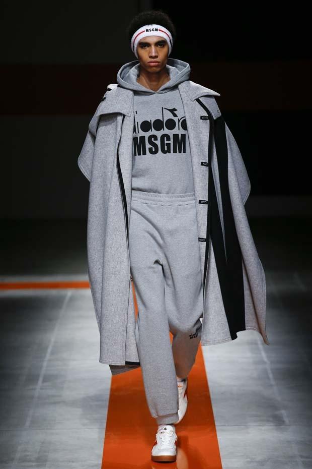 MSGM - Semana de Moda de Milão inverno 2017 (Foto: Imaxtree)