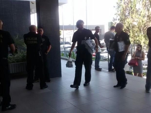 Polícia Federal investiga grupo empresarial de forró por fraudes no Ceará (Foto: Gioras Xerez/G1)