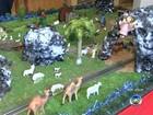 Tradicional exposição de presépios é aberta para visitantes em Jundiaí