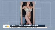 Gabriela Pugliesi participa de evento de moda em Goiânia