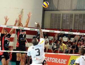 Pinda x Volta Redonda Superliga (Foto: Luis Claudio Antunes/PortalR3)