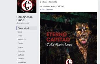 """Campinense faz homenagem a Carlos Alberto Torres, o """"eterno capitão"""""""