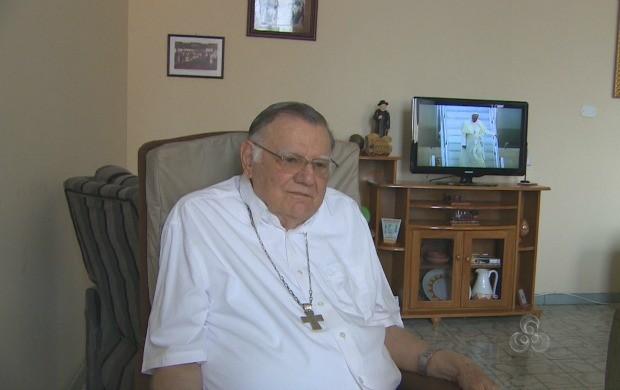 Dom Moacyr Grechi, Arcebispo Emérito fala sobre a importância do evento  (Foto: Bom Dia Amazônia)