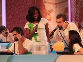 mesão criança esperança (Foto: Globo)