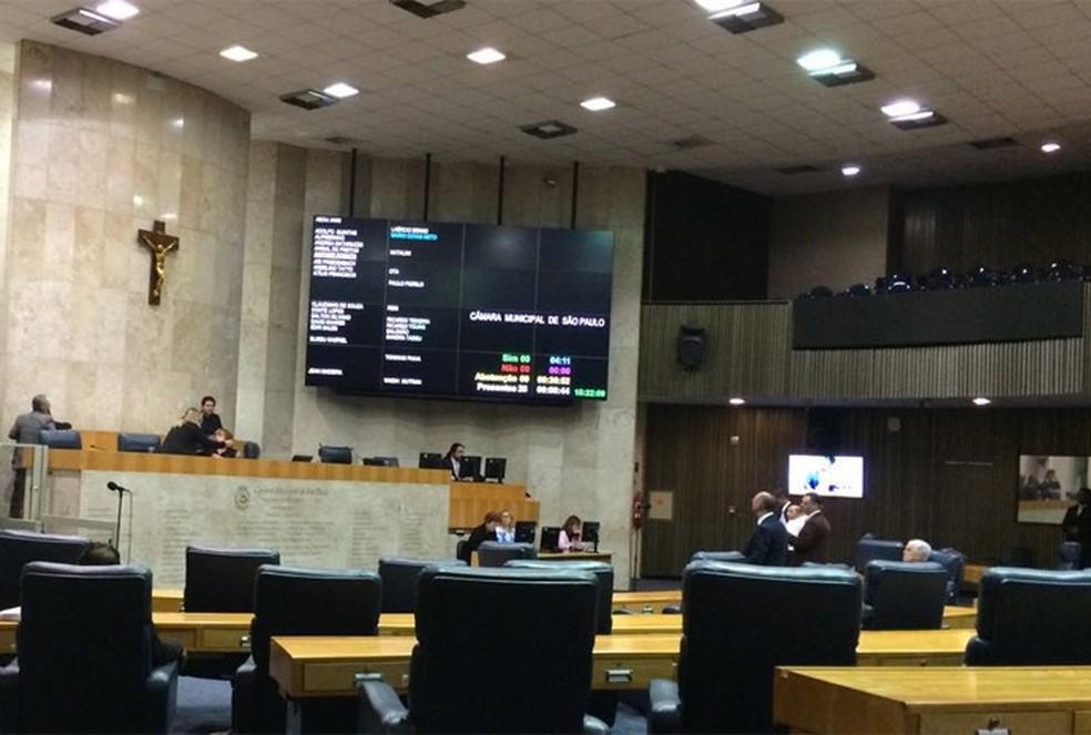 Câmara Municipal de São Paulo (Foto: Roney Domingos/G1)