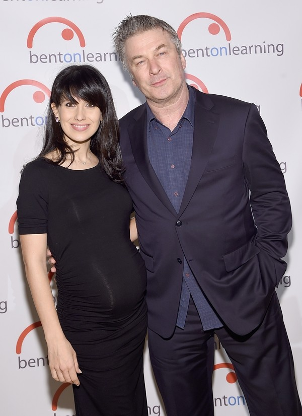 Hilaria Thomas e Alec Baldwin (Foto: Getty Images)