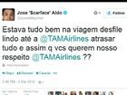 No AM, atraso em voo da TAM com destino ao RJ irrita lutador José Aldo