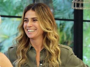Giovanna Antonelli é a convidada do Mais Você  (Foto: Viviane Figueiredo/Gshow)