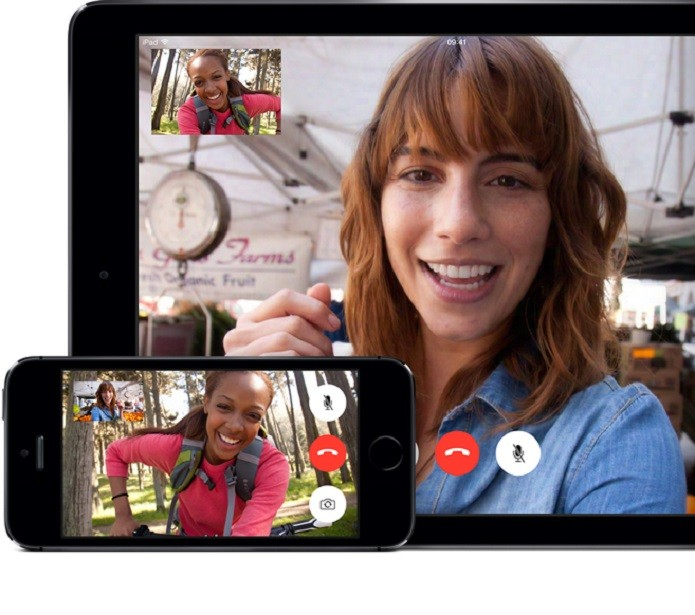 O FaceTime, da Apple, permite fazer chamadas de vídeo (Foto: Divulgação/Apple)