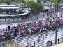 Manifestantes fazem ato contra impeachment de Dilma em SC