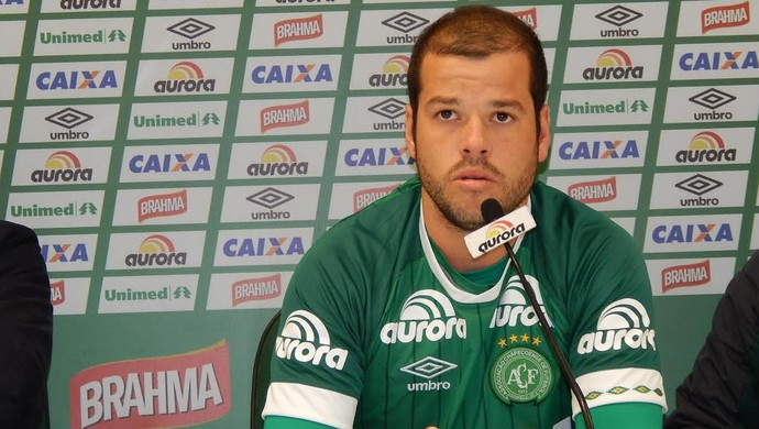 Tiago Luis Chapecoense (Foto: Laion Espíndula)