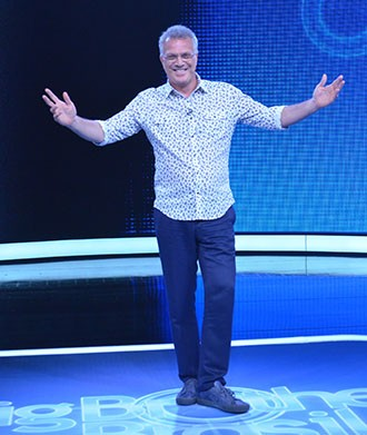 Pedro Bial, apresentador do BBB (Foto: Globo/ Frederico Rozario)