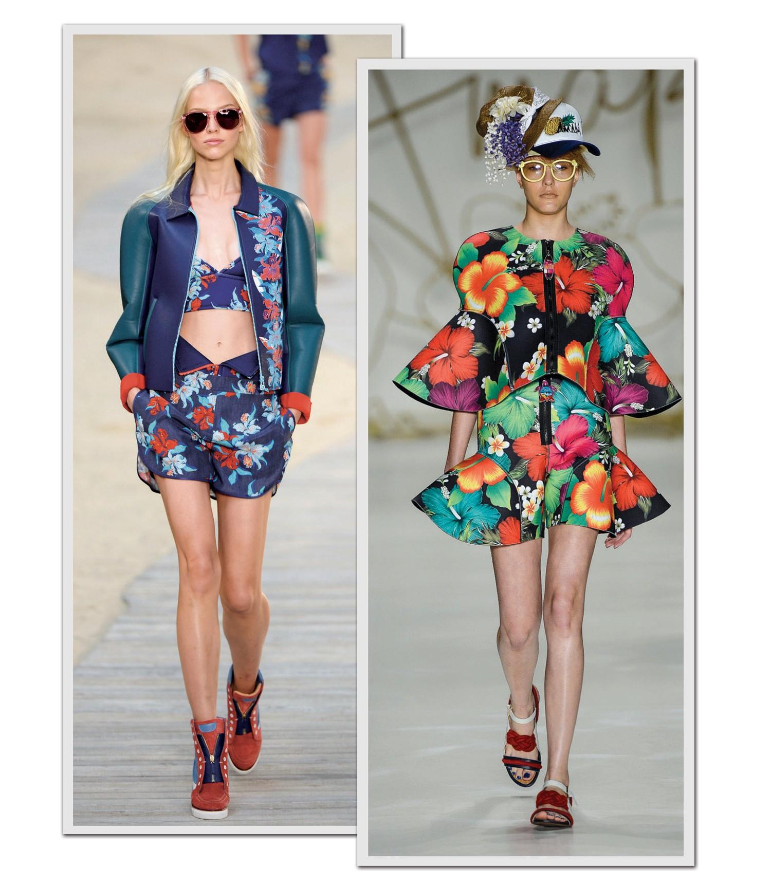 Neoprene sai da praia e invade o guarda-roupa urbano neste verão