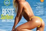 Campe� nacional de surfe e stand up paddle, alem� � capa da Playboy