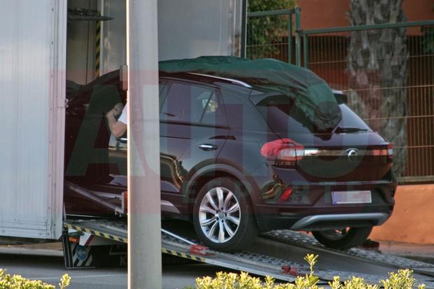 Volkswagen T-Roc é flagrado (Foto: Carpix/ Andreas Mau)