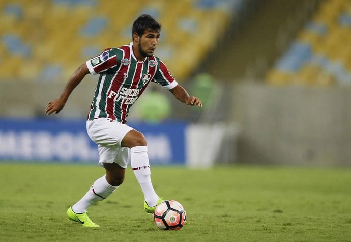 Sornoza Fluminense x Liverpool (Foto: Marcelo de Jesus)