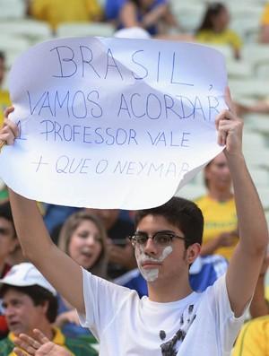 torcida brasil x mexico (Foto: André Durão)
