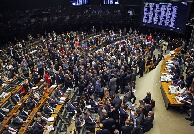 Câmara rejeita denúncia contra presidente Michel Temer (Foto: Agência Brasil)