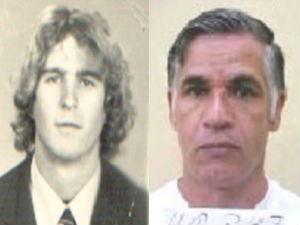 """Imagem dos suspeitos mais procurados; à direita """"vovozinho' e a esquerda, João Cabeludo (Foto: Divulgação/Arquivo Polícia Civil)"""