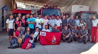 Delegação Prudentina antes da saída para Jacareí (Foto: Semepp / Divulgação)