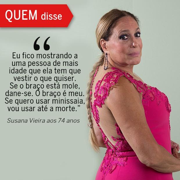 QUEM Disse: Susana Vieira (Foto: Reprodução/ Revista QUEM)
