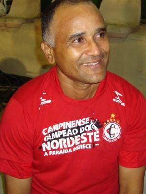 oliveira canindé, campinense, técnico (Foto: Phelipe Caldas / Globoesporte.com/pb)