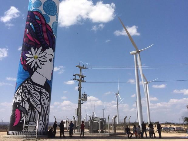 Pernambuco passa a gerar 181.9 MW de energia limpa com parque eólico em Caetés (Foto: Divulgação/Ascom Casa dos Ventos)