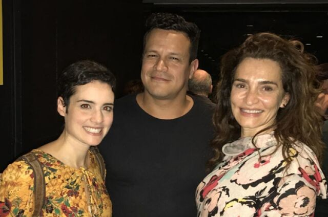 Elisa Pinheiro, Martín Flores Cárdenas e Gisele Fróes (Foto: Divulgação)
