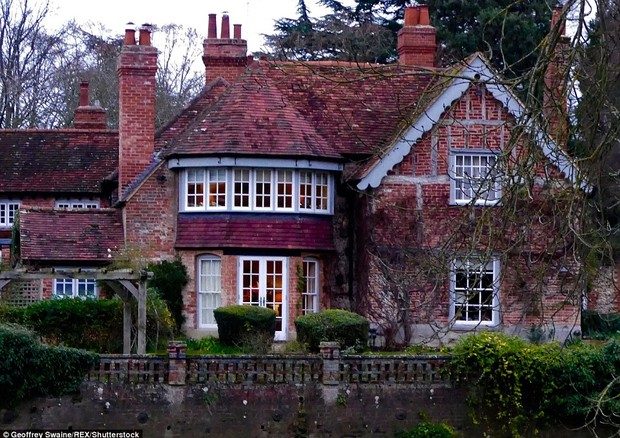 Mansão de George Michael em Oxfordshire (Foto: Reprodução)